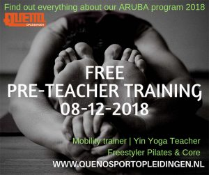 GRATIS Pre-teacher workshop Yin Yoga & Mobility @ MyFitness ARUBA